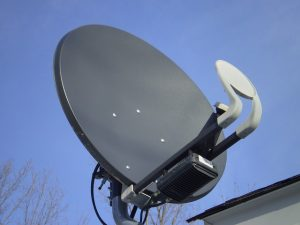 Antena parabólica en Badalona