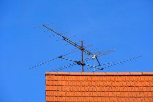 Antena de televisión en Badalona